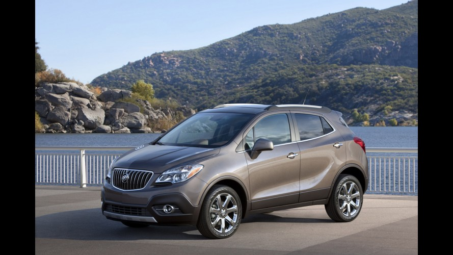 Versão Chevrolet do crossover Buick Encore poderá se chamar Enjoy