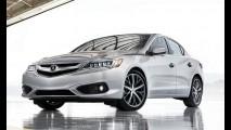 Versão de luxo do Civic, Acura ILX ganha novo visual e câmbio de oito marchas