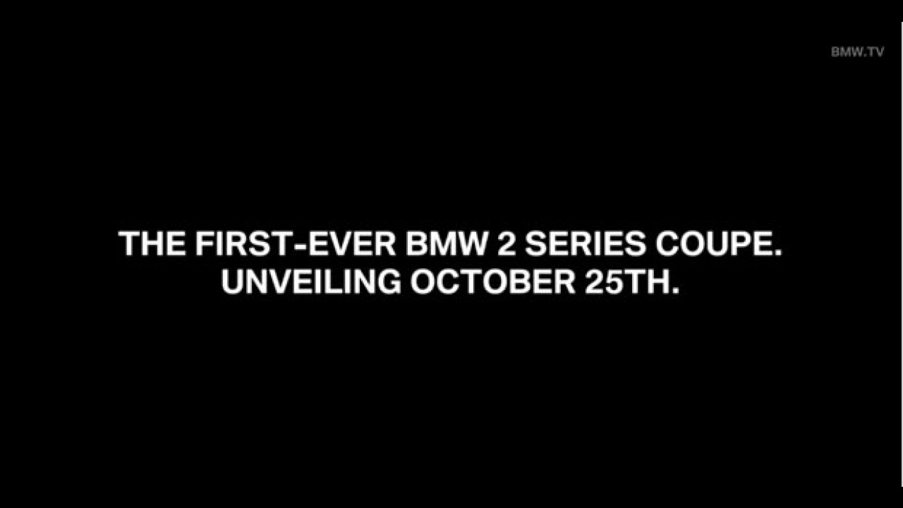 Inédito BMW Série 2 tem teaser oficial e apresentação confirmada
