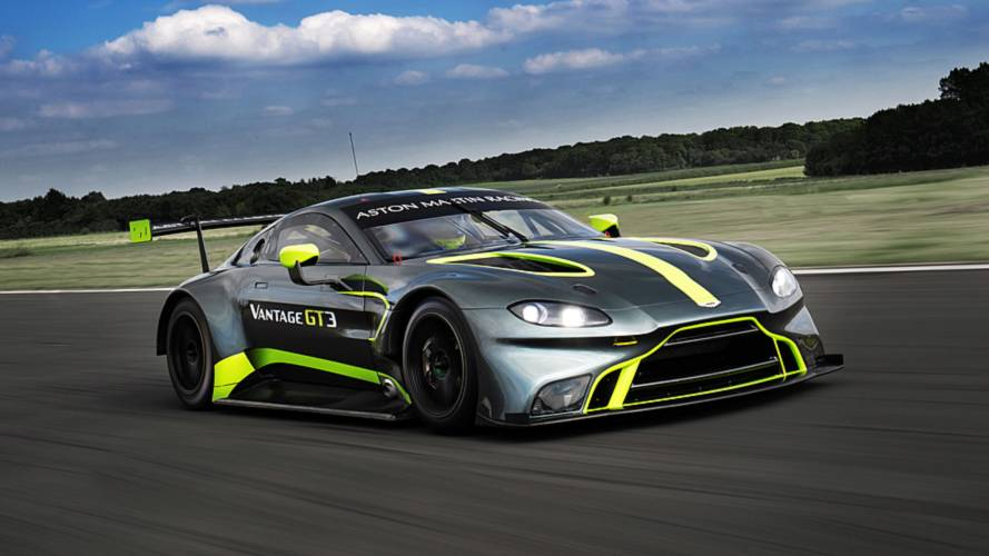 New Vantage GT3 to make race debut at Le Mans