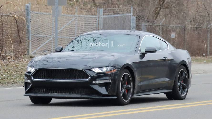 2019 Ford Mustang Bullitt Spy Photos