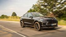 Porsche Macan Erprobungsfahrt in Südafrika