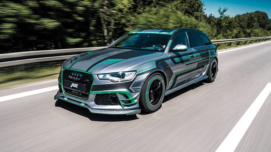 Audi RS6-E par ABT Sportsline - Le break de chasse hybride de 1018 ch !