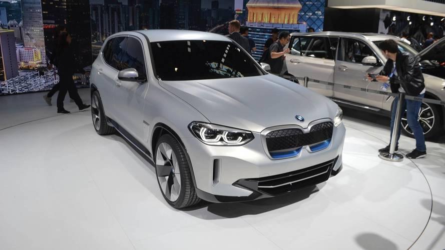 BMW Concept iX3 prevê versão 100% elétrica que chega em 2020