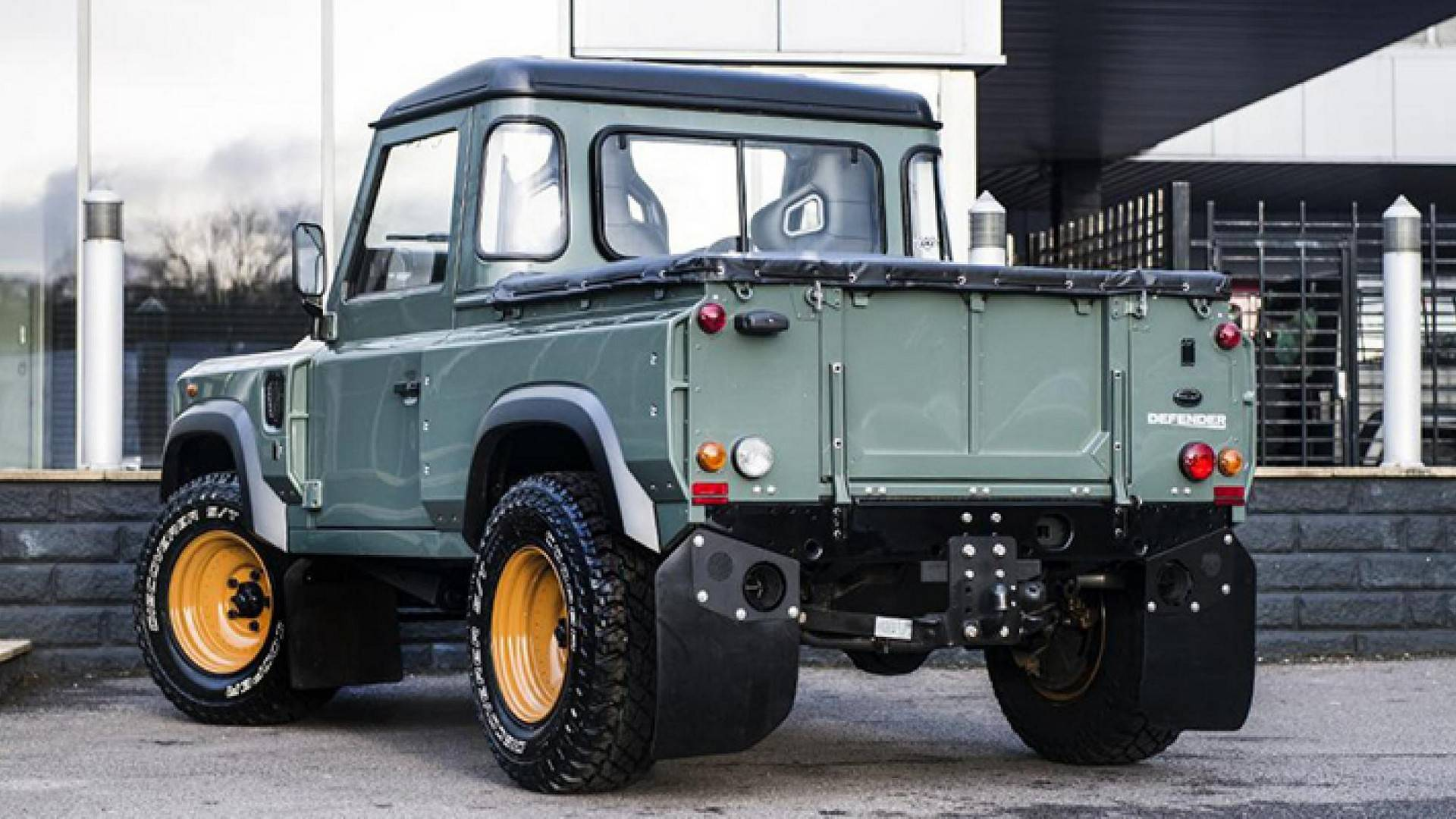 pickup landrover cab xs pick double chelsea truck wide the tdci defender up land rover
