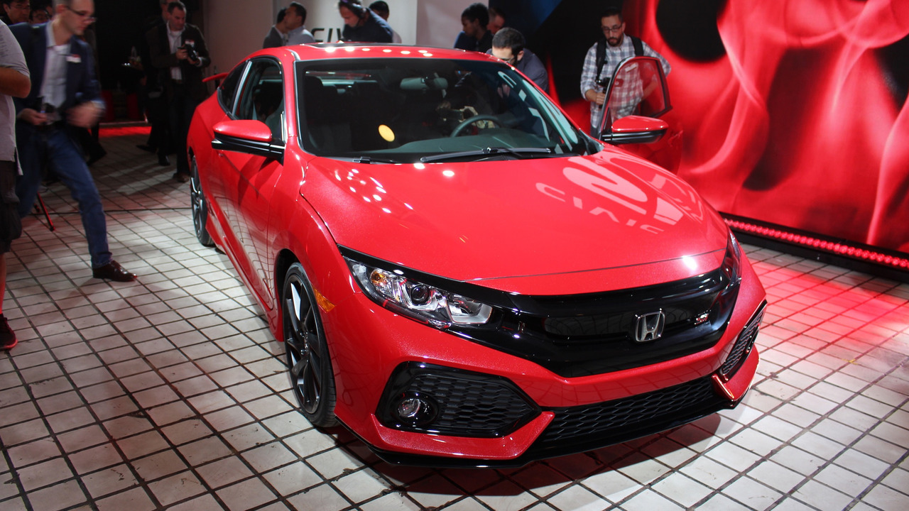 2017 honda civic si prototype la 2016 photo gallery. Black Bedroom Furniture Sets. Home Design Ideas