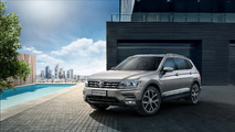 2017 Volkswagen Tiguan seven-seat model for China