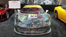 Ferrari 458 Art Car: Detroit 2017