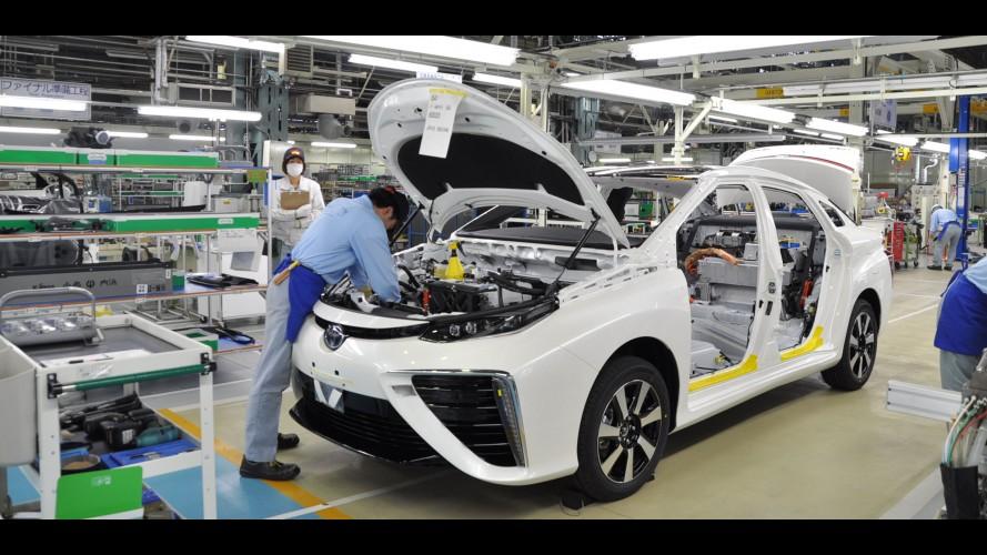 Toyota vai suspender produção no Japão por falta de aço