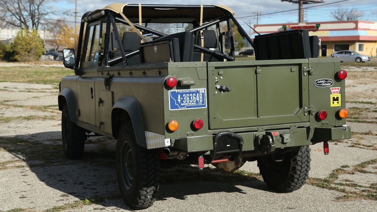 Land Rover Defender Military Ebay Photo