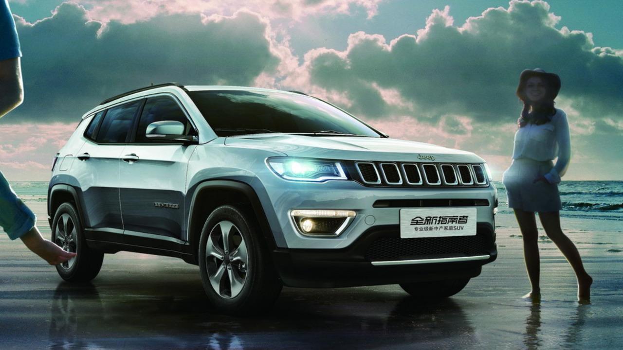 Jeep Compass China 2017