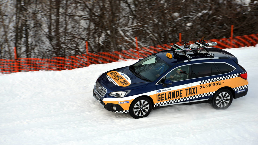 Skip the ski lift with Subaru's new Outback taxi service