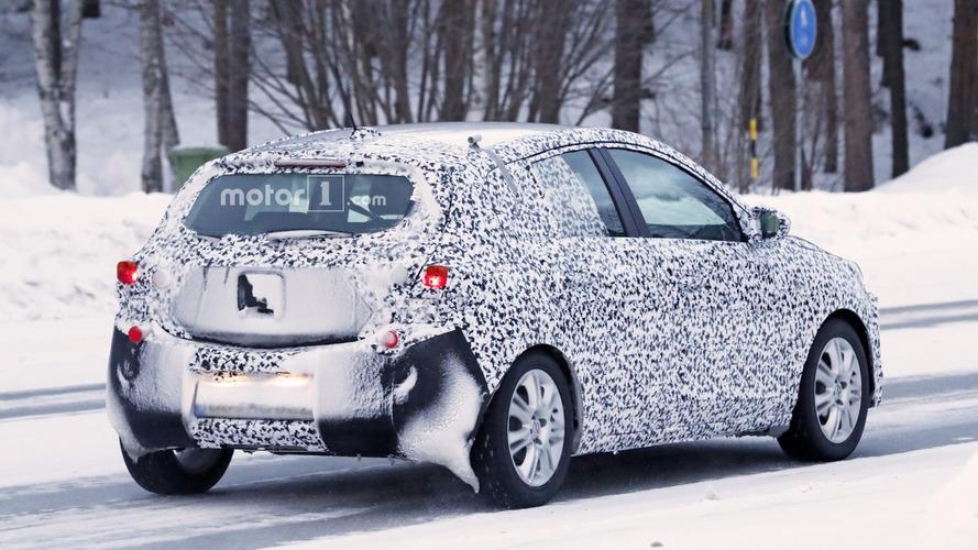Opel Corsa 2019 fotos espía