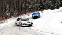 Ford Focus RS vs Subaru STI Video