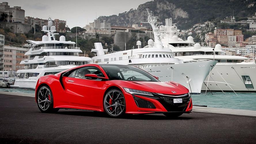 Honda n'a vendu que deux NSX en Australie