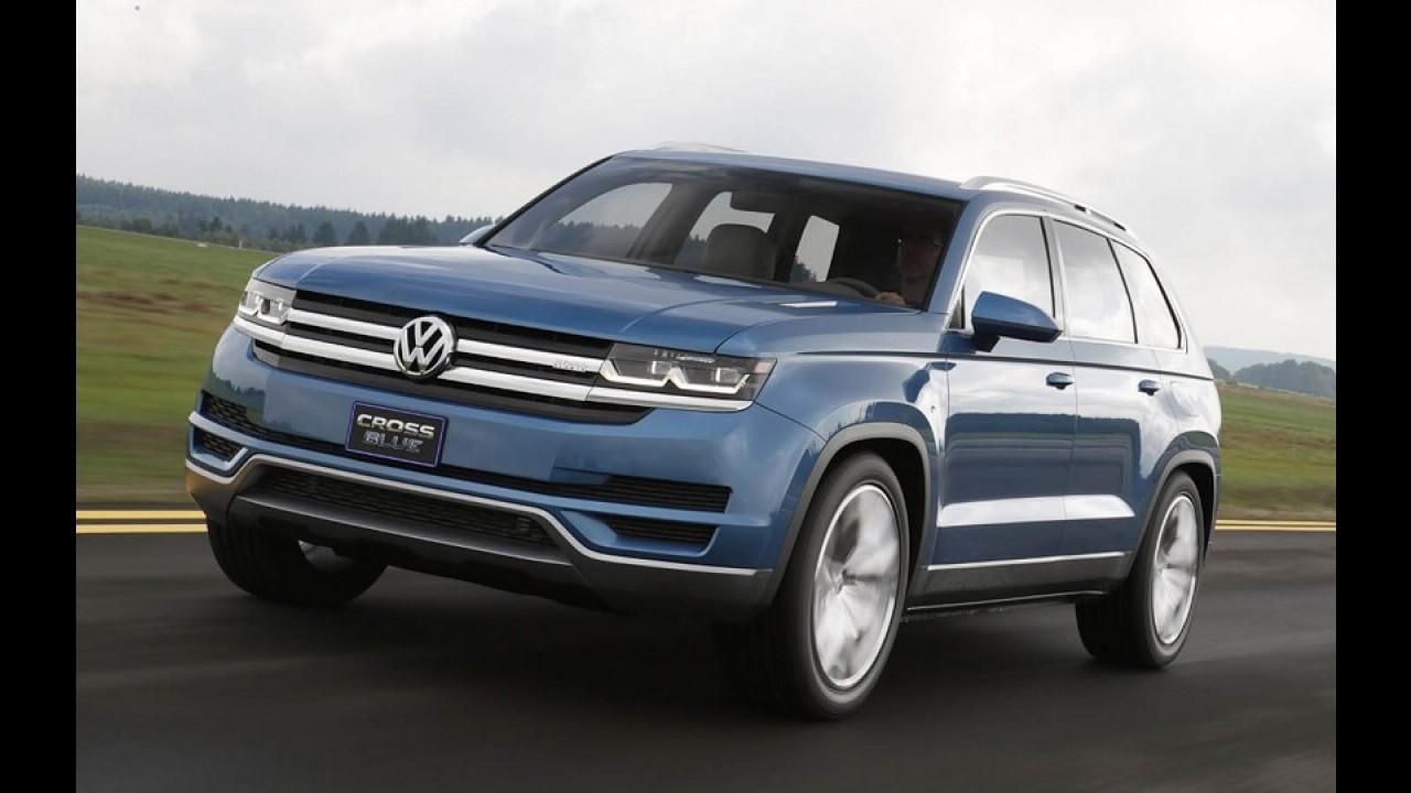 Vídeo: Volkswagen prepara chegada do Atlas, novo SUV grande de sete lugares