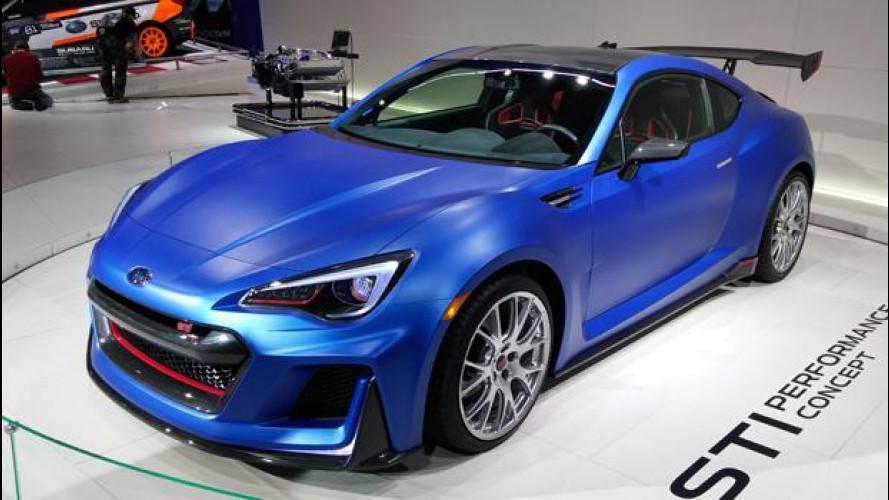 Salone di New York: Subaru STi Performance, toccare il sogno