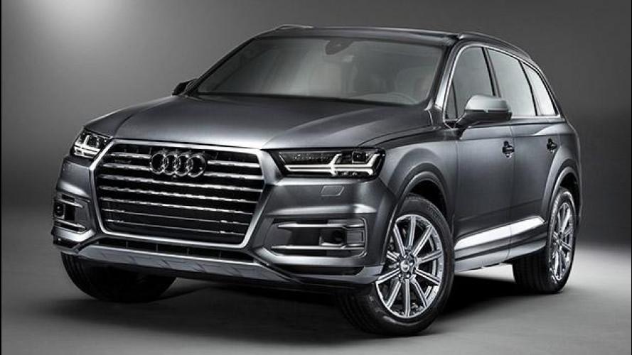 Audi SQ7, il super diesel col turbo elettrico