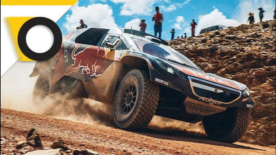 Peugeot 2008 DKR, 2 è meglio di 4