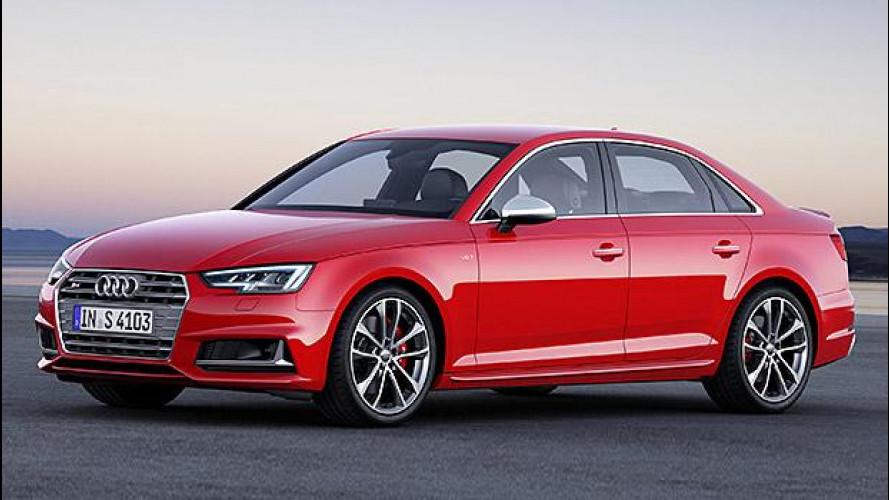 Salone di Francoforte, la nuova Audi S4 ha 354 CV