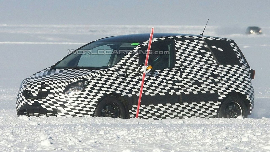 New Opel Meriva Production Prototype Spied in Finland