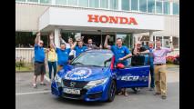 Honda Civic Tourer nel Guinness dei primati