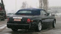 New Rolls Royce Convertible Spy Photos