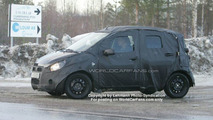 SPY PHOTOS: New Opel Agila