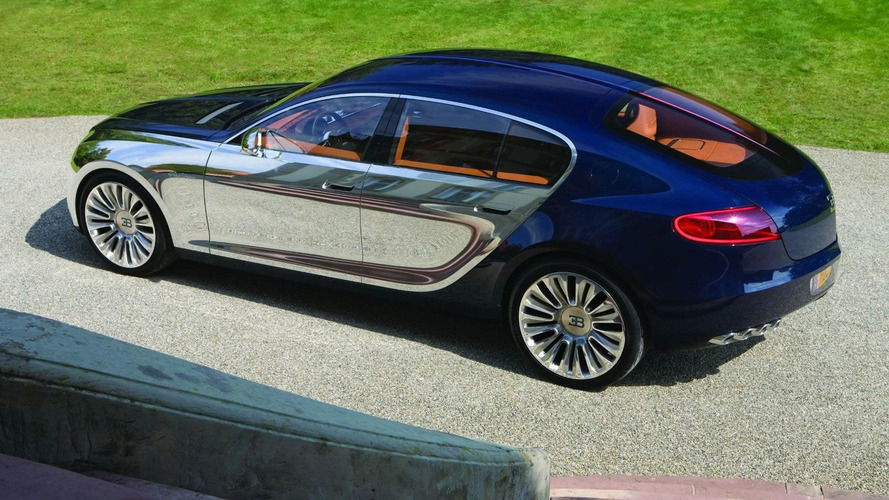 Bugatti Galibier concept back on the drawing board