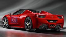 Ferrari 458 Spider leaked?
