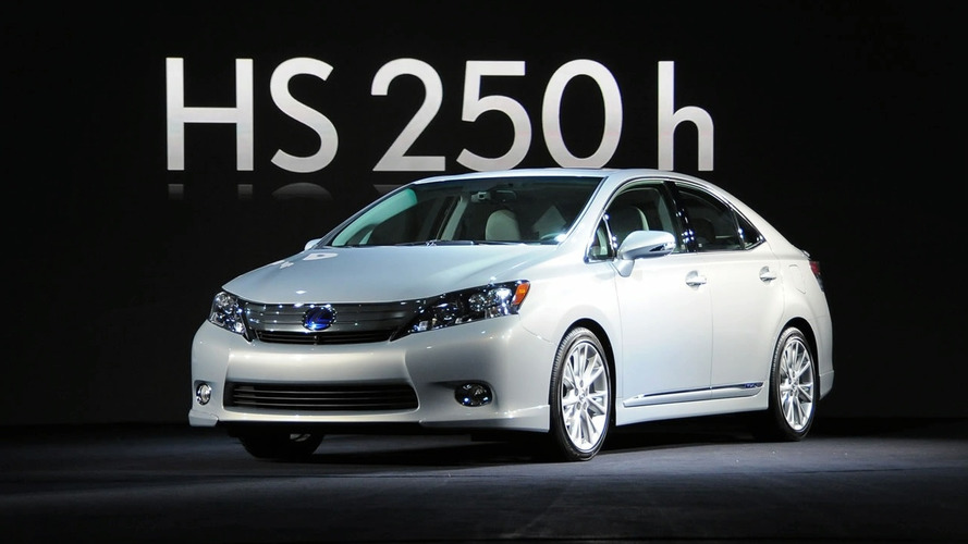 Lexus Recalls 18K Examples Of HS 250h For Hybrid Short Circuit