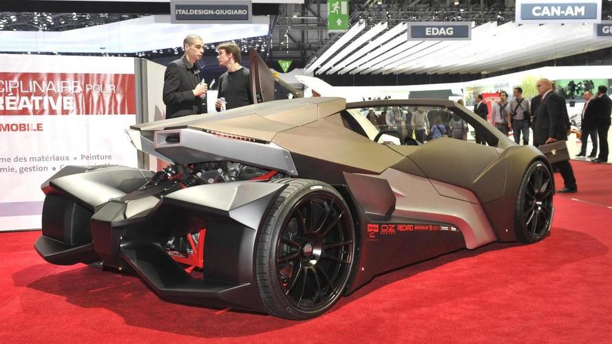 Espera Sbarro Evoluzione design concept revealed in Geneva