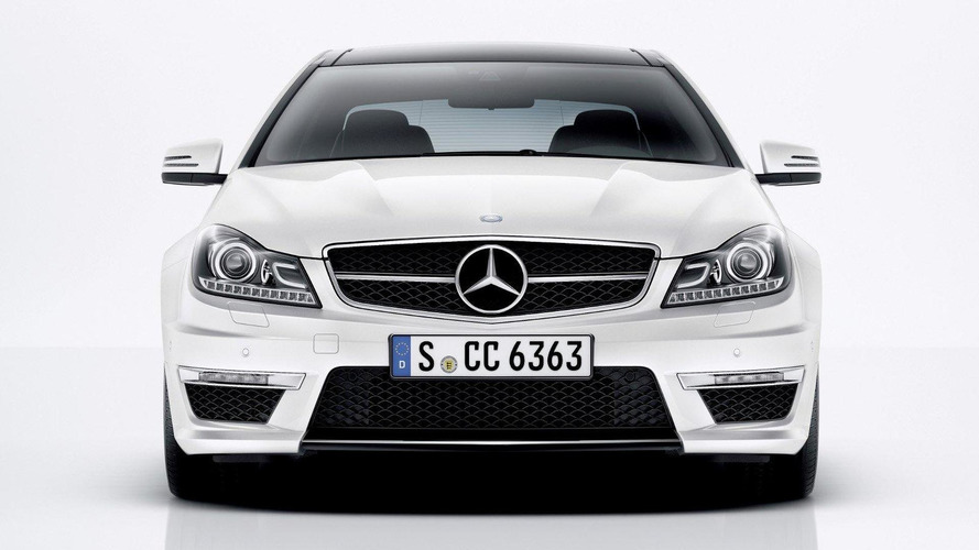 Mercedes C63 AMG coupe revealed [videos]