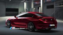 2012 BMW M6 F12 Rendering