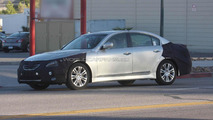 Hyundai Genesis Facelift spied with new headlights