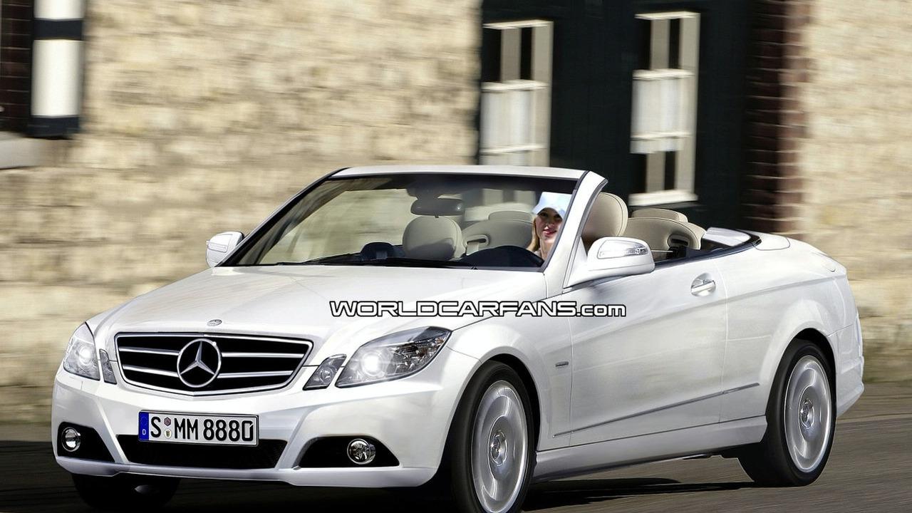 Mercedes E-Class Coupe Convertible artist rendering