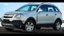 Chevrolet Captiva 2.4 16V Ecotec de 171 cv chega por R$ 86.990 - Veja fotos