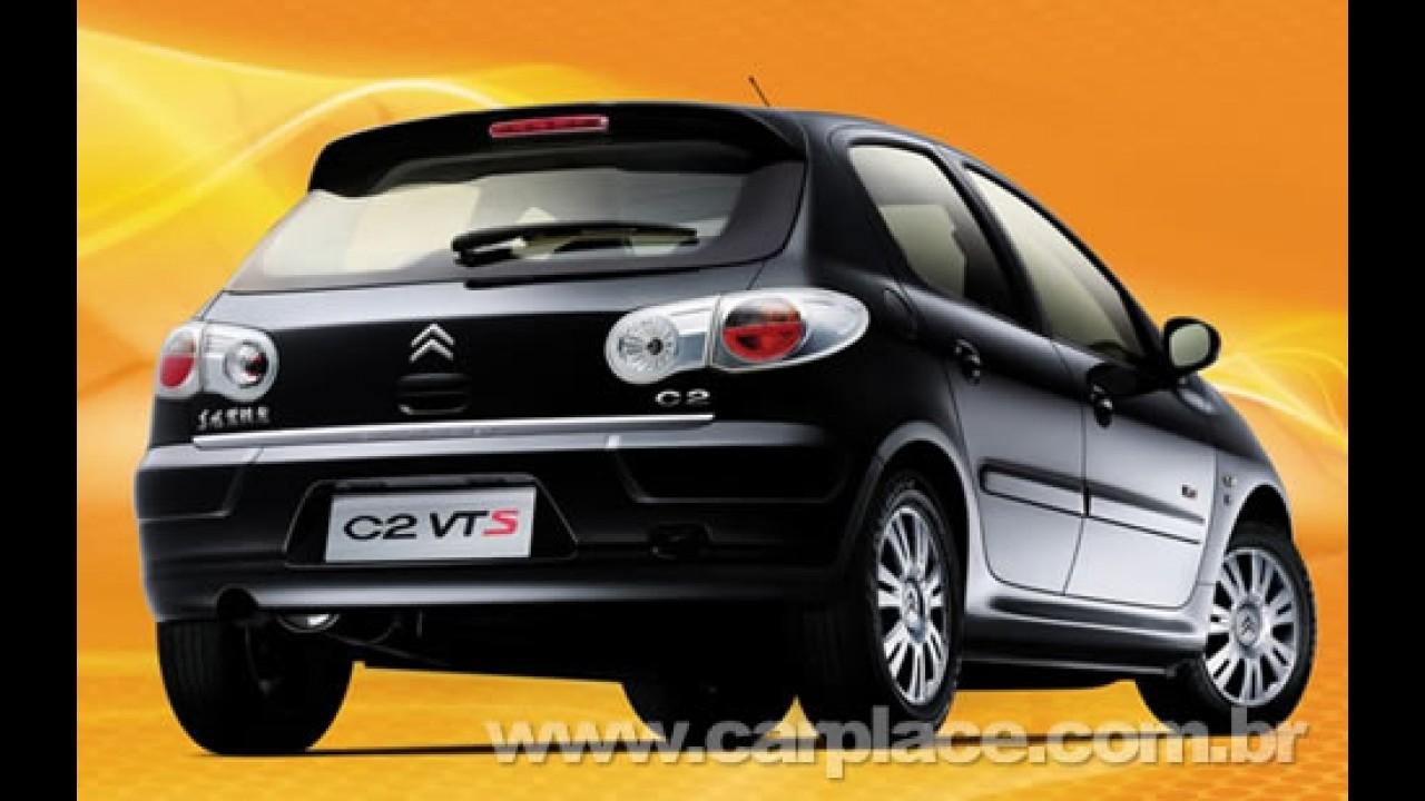 Na China: Peugeot 206 vendido como Citröen C2 ganha versão esportiva VTS