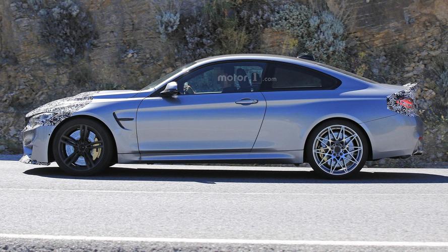 2017 BMW M4 facelift photos espion