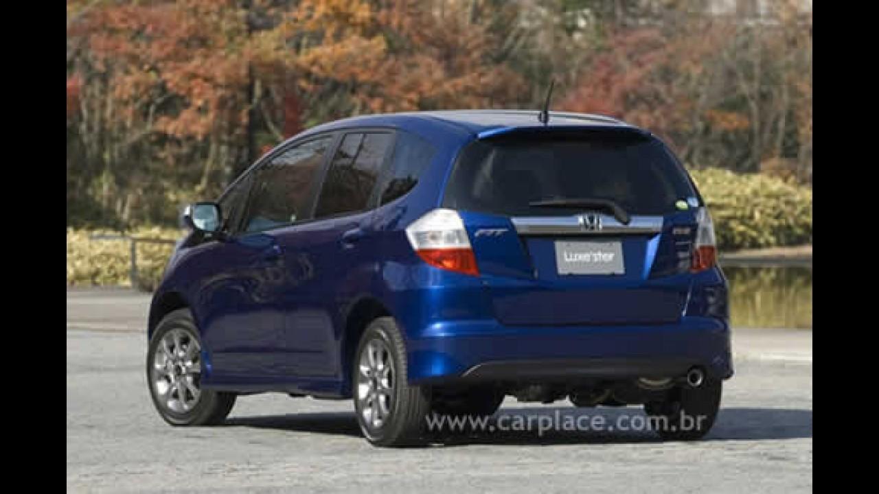 No Japão, Novo Honda Fit ganha pacote de acessórios Luxe'ster