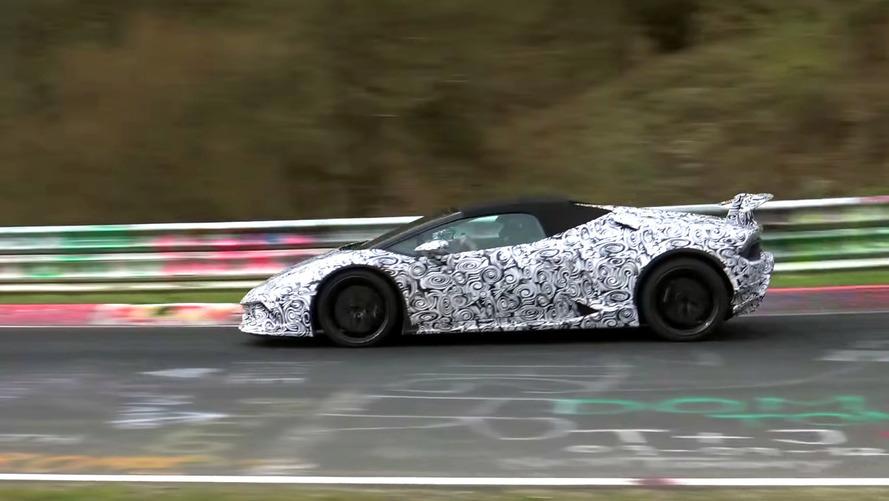 Lamborghini Huracan Performante Spyder Casus Video