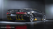 First Lamborghini Centenario in Asia-Pacific region