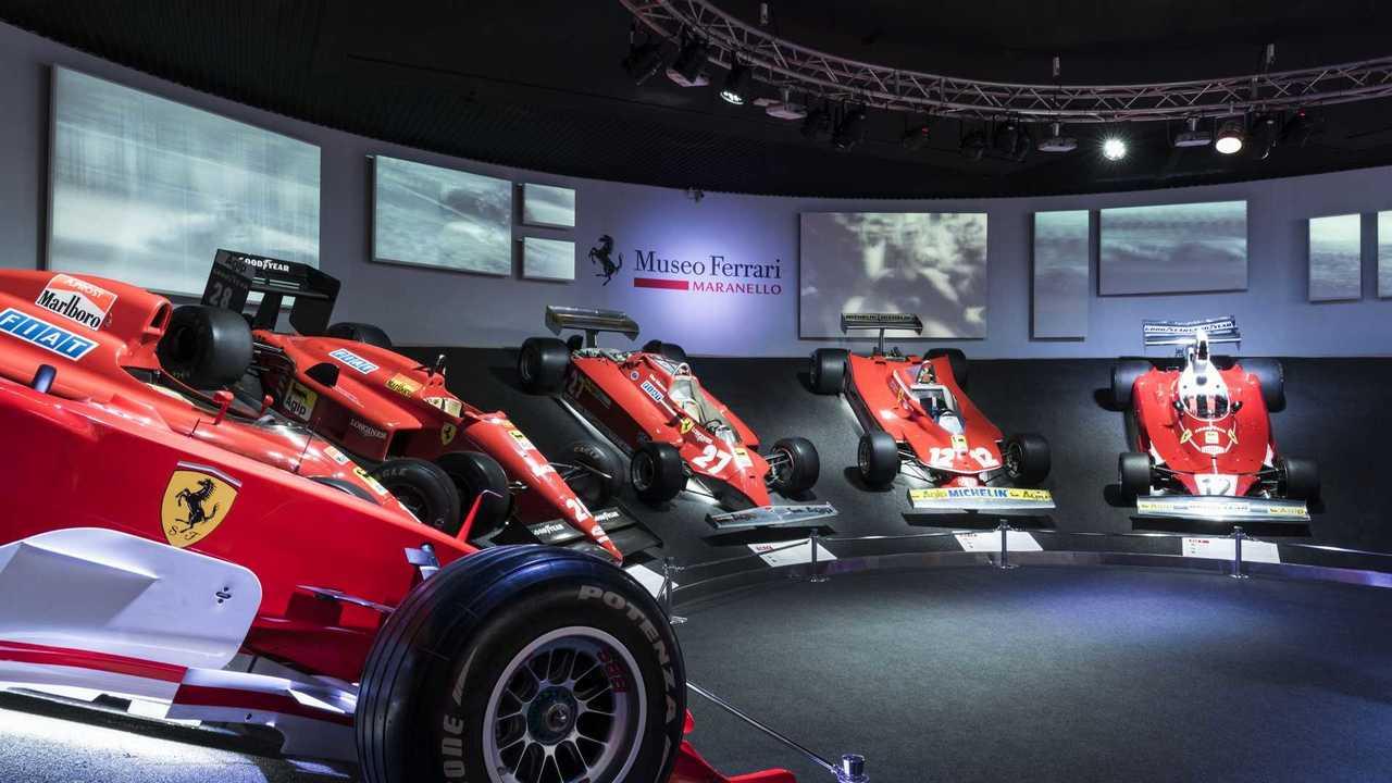 Ferrari'nin Maranello müzesi genişletildi