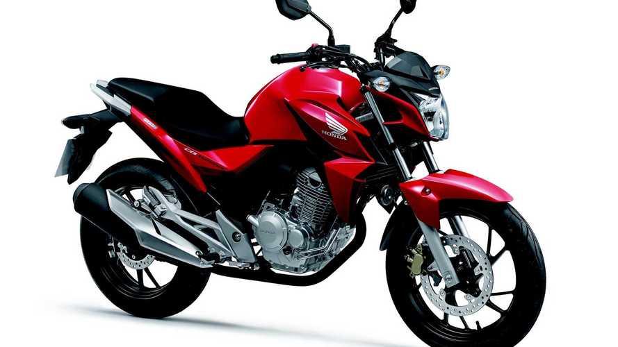 Honda se destaca com baixa desvalorização de motos