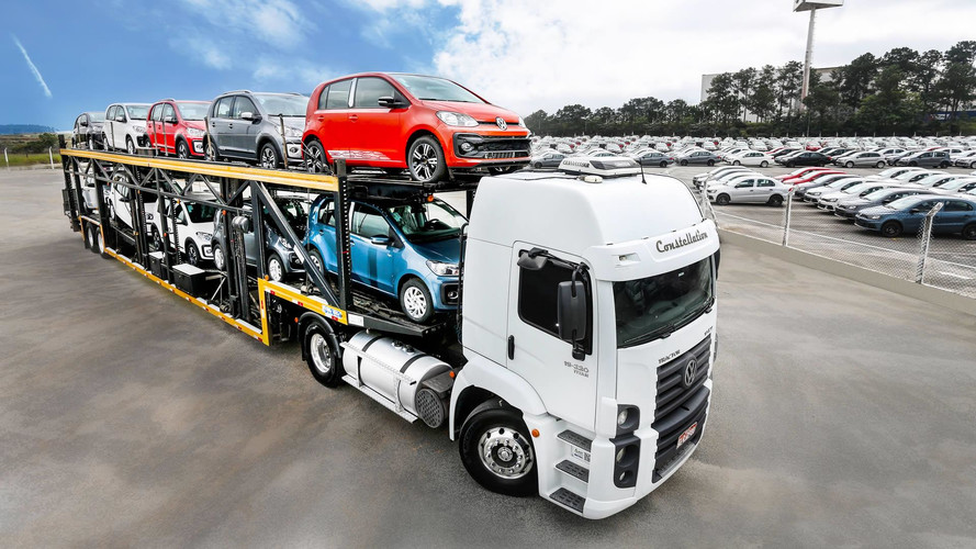 VW inicia exportação do novo up! para Argentina, Peru e Uruguai