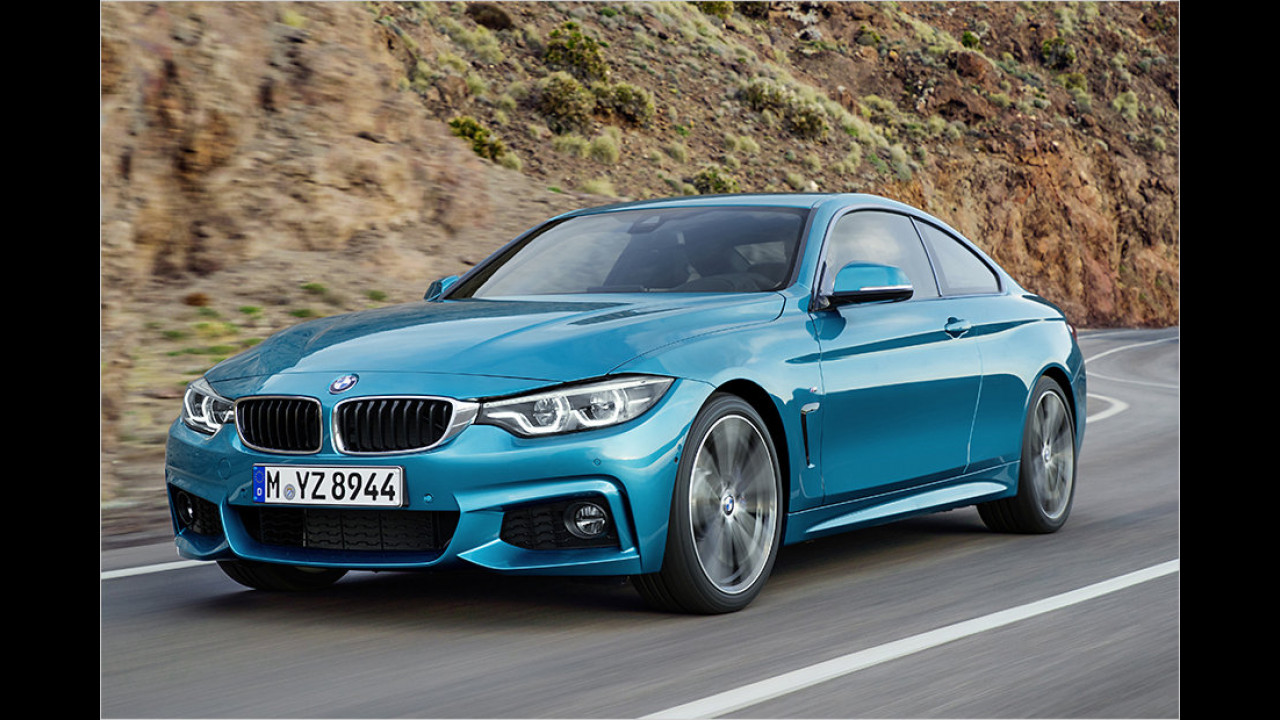 4. Platz: BMW 435d xDrive Coupé Steptronic