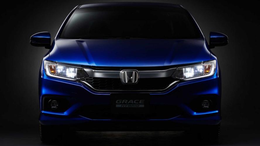 Honda mostra City Hybrid 2017 mais tecnológico e seguro