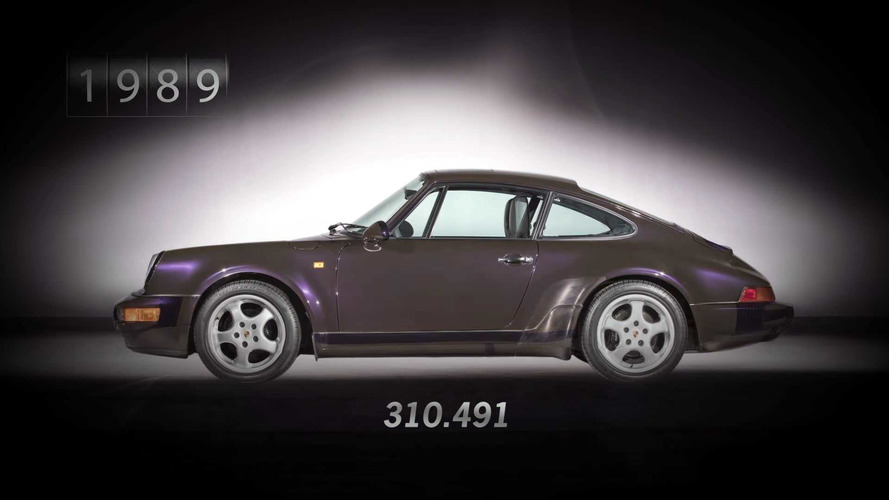 1 Million Porsche 911s Over 7 Generations Counted In Cool CGI