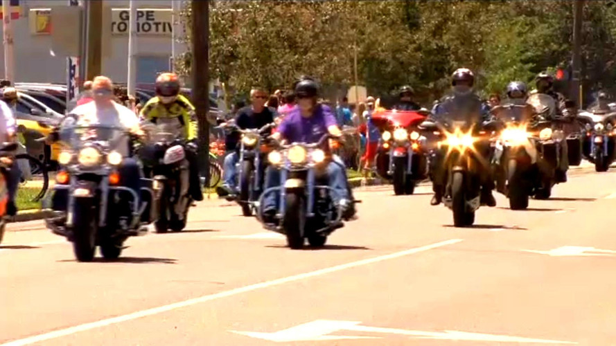 Over 2,000 Bikers Show Up For Nicky Hayden's Funeral