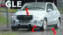 Mercedes-Benz GLE-Class Spy Video